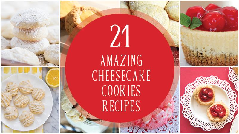 21 Amazing Cheesecake Cookies Recipes