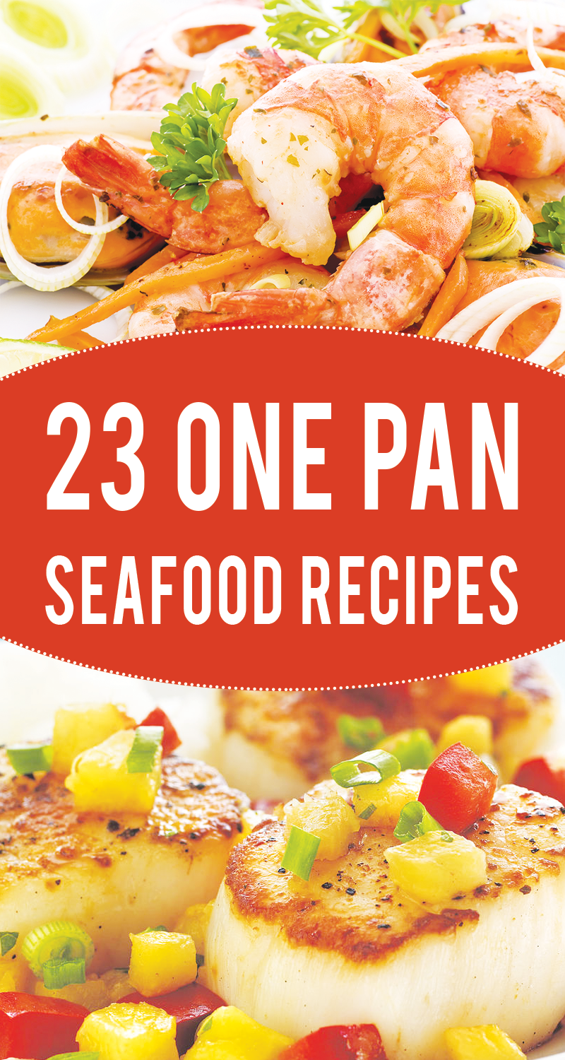 23 One-Pan Healthy Seafood Recipes to Try Right Now