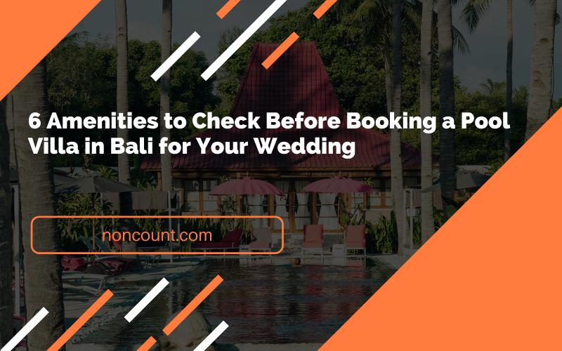 Booking a Pool Villa