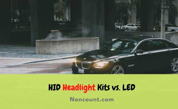 HID Headlight Kits vs. LED