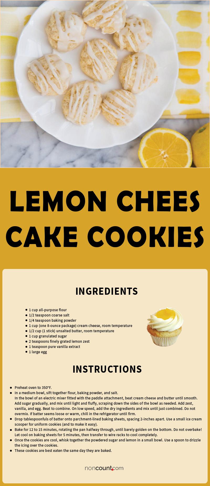 Lemon Cheesecake Cookies Recipe