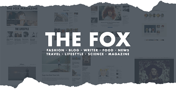 The Fox (Premium)- wordpress themes forbusiness