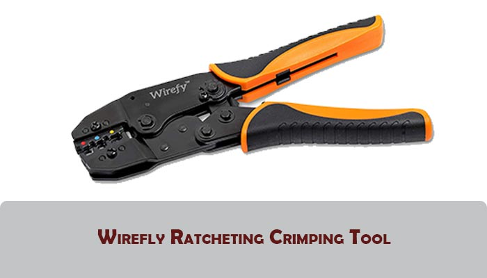 Wirefly Ratcheting Crimping Tool