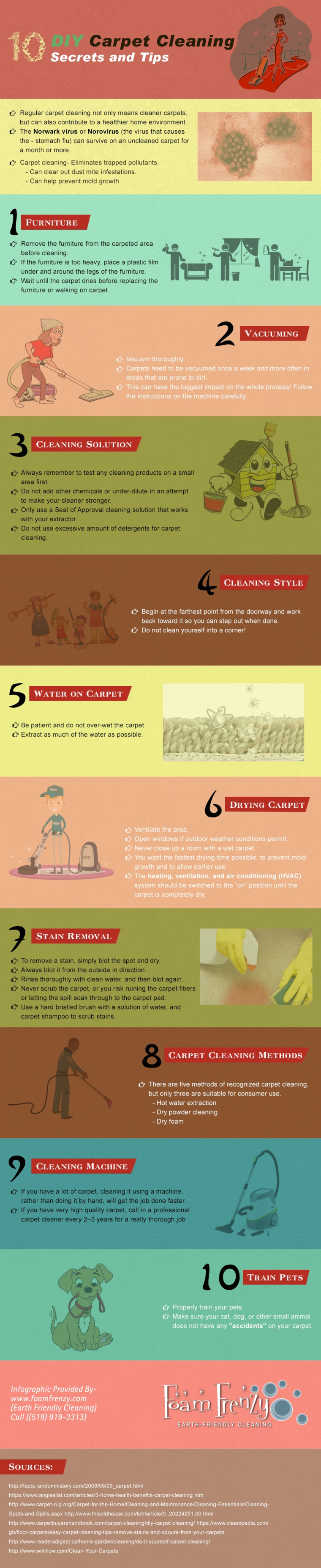 5 carpet cleaning tips for a long lasting carpet noncount all of eco diy carpet cleaning infographic solutioingenieria Gallery