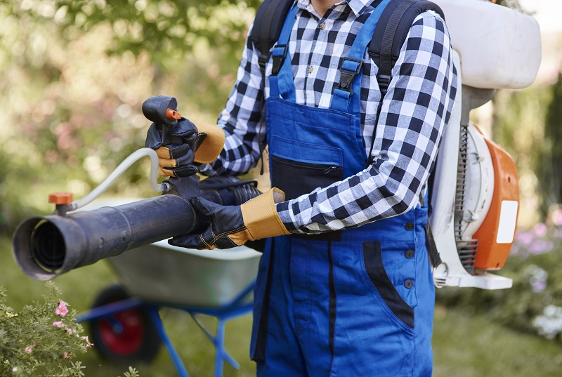 7 Ways to use the leaf blower year around that don't involve leaves