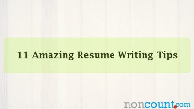11 Amazing Resume Writing Tips