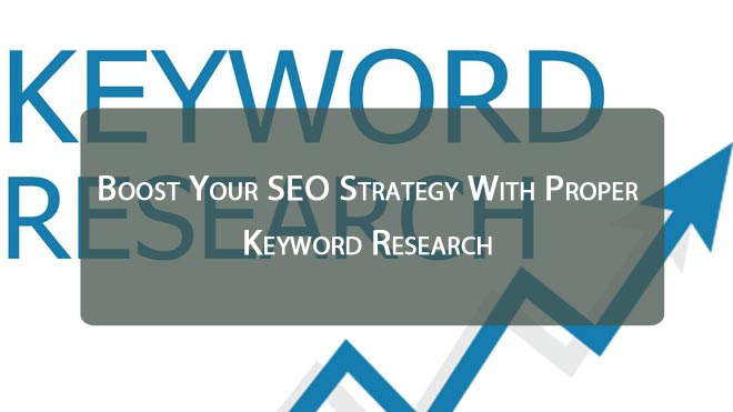 Boost Your SEO Strategy With Proper Keyword Research