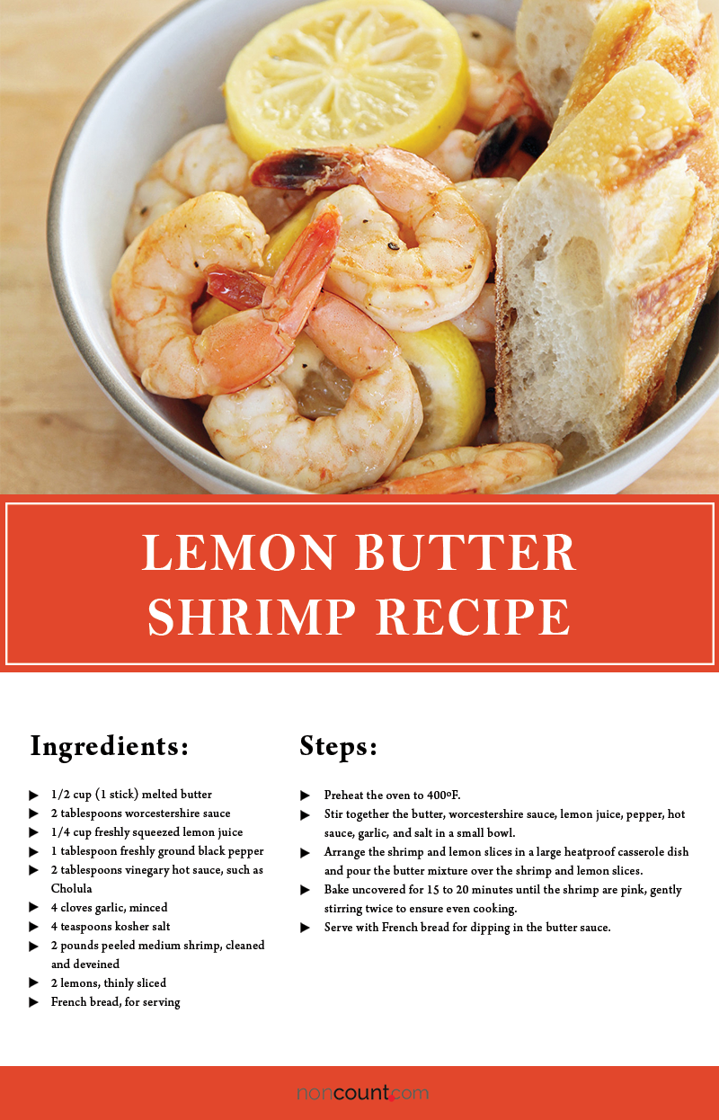 Lemon Butter Shrimp Seafood Recipe Image