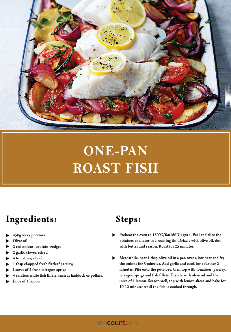 One-pan roast fish another Seafood Recipes Image