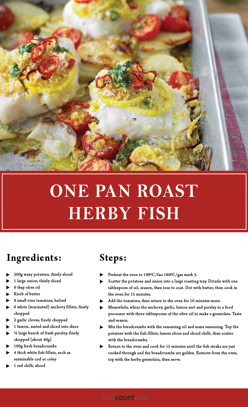 One-Pan Roast Herby Fish
