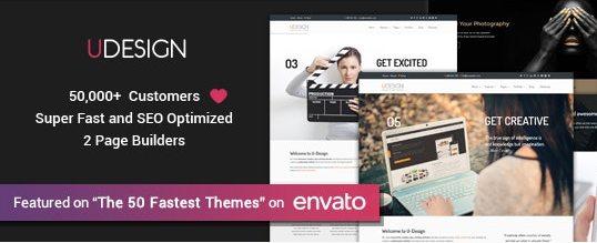 uDesign theme- wordpress themes forbusiness