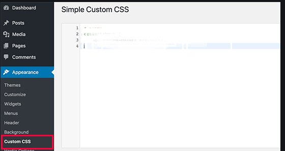 Custom CSS to Your WordPress Site
